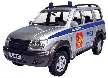 Фото Масштабная модель УАЗ Патриот Милиция 1:43 (30183)