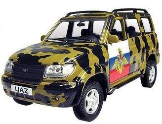 Фото Масштабная модель УАЗ Патриот Военная 1:43 (30188)