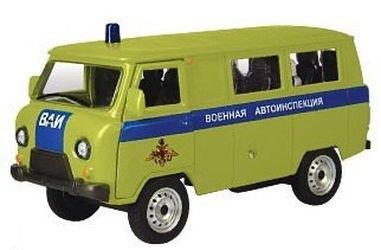 Фото Масштабная модель УАЗ-39625 ВАИ 1:43 (30072)