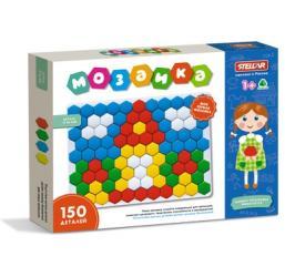 Фото Детская мозаика для самых маленьких 150 фишек 4см(01042)