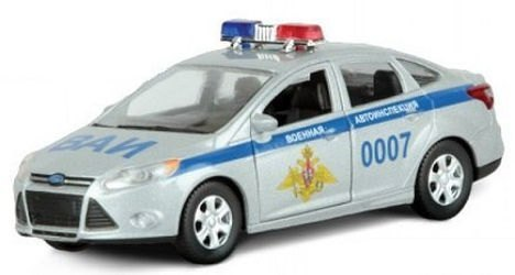 Фото Масштабная модель Форд Фокус ВАИ 1:36 (49084)