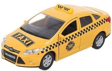 Фото Масштабная модель FORD FOCUS Такси 1:36 (49085)