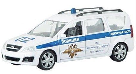 Фото Масштабная модель Лада Ларгус Полиция 1:38 (49481)