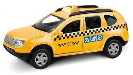Фото Масштабная модель Рено Дастер Такси 1:38 (49498)