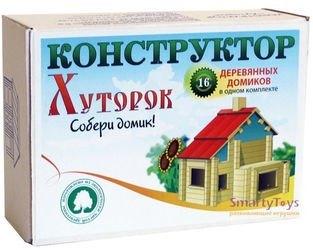 """Фото Конструктор деревянных домиков """"Хуторок"""""""