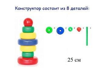"""Фото Пирамидка  """"Радуга"""" (1105/1106)"""