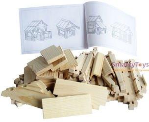 Конструктор деревянных домиков Хуторок фотография 2