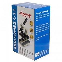 Микроскоп учебный Микромед С-11 фотография 4