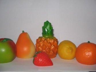 Фото Набор игрушечных Фруктов из резины (СИ-325)