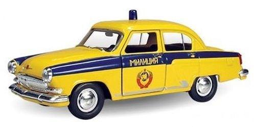 Фото Масштабная модель ГАЗ-21 ГАИ СССР 1:43 (34103W-RUS)
