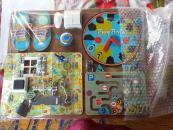 Фотография Бизиборд для мальчика №1 40х50 (7902) предоставлена покупателем