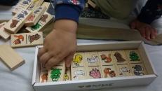 Фотография Домино детское деревянное Животные предоставлена покупателем