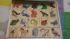 Фотография Лото детское деревянное Животный мир предоставлена покупателем