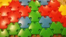 Фотография Мозаика напольная Полянка (60 дет, 60 мм) (01046) предоставлена покупателем