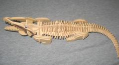 """Фотография Сборная деревянная модель """"Крокодил"""" (М013) предоставлена покупателем"""