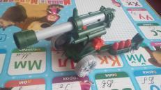 Фотография Детская игрушечная Пушка пневматическая (С-33) предоставлена покупателем