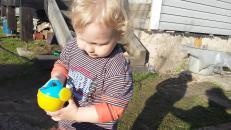 Фотография Детская игрушкаЛейка малая №4 (39652 ) предоставлена покупателем