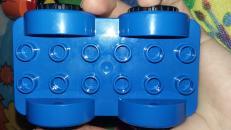 Фотография 10552 Машинки-трансформеры (конструктор Lego Duplo) предоставлена покупателем