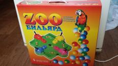 Фотография Настольная игра Зообильярд (Голодные бегемотики) предоставлена покупателем