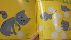 Фотография Книга с наклейками Веселые кружочки Один-много предоставлена покупателем