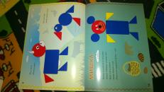 Фотография Блоки Дьенеша для самых маленьких 2 (альбом-приложение к блокам Дьенеша) предоставлена покупателем