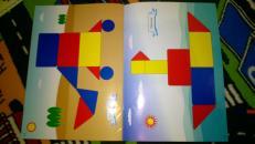 Фотография Блоки Дьенеша для самых маленьких (альбом-приложение к блокам Дьенеша) предоставлена покупателем