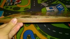 Фотография Развивающая деревянная игра Овощи на грядке (7907) предоставлена покупателем