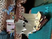 Фотография Сборная модель из картона Галеон (001-003) предоставлена покупателем